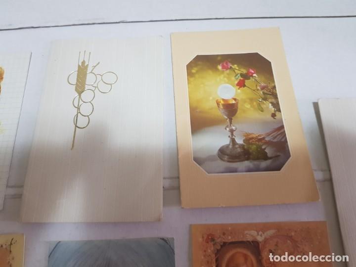Antigüedades: Lote 9 recordatorios primera comunión Alicante - Foto 3 - 172887488