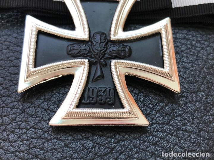 Antigüedades: Cruz de Caballero con hojas de roble 57 eichenlaub ritterkreuz Reich Hitler Fuhrer NSDAP nazi - Foto 3 - 172902799