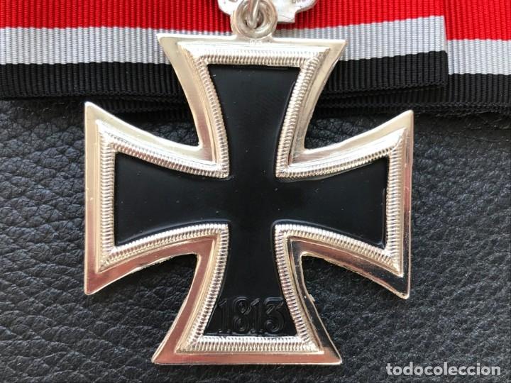 Antigüedades: Cruz de Caballero con hojas de roble 57 eichenlaub ritterkreuz Reich Hitler Fuhrer NSDAP nazi - Foto 7 - 172902799