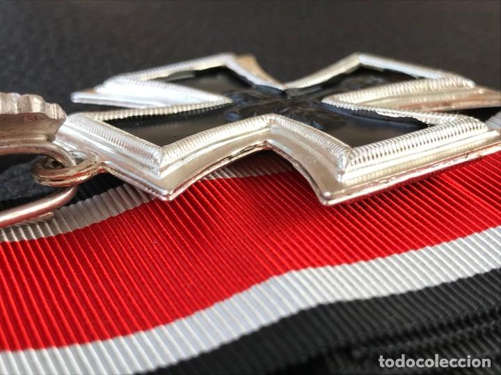 Antigüedades: Cruz de Caballero con hojas de roble 57 eichenlaub ritterkreuz Reich Hitler Fuhrer NSDAP nazi - Foto 13 - 172902799