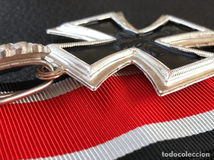 Antigüedades: Cruz de Caballero con hojas de roble 57 eichenlaub ritterkreuz Reich Hitler Fuhrer NSDAP nazi - Foto 14 - 172902799