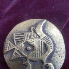 Antigüedades: ANTIGUA MEDALLA DE BRONCE. Lote 172955749