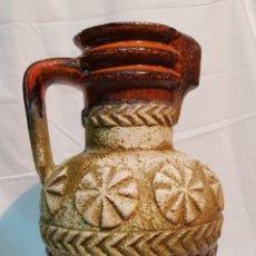 Antigüedades: JARRÓN DE CERÁMICA WEST GERMANY - FAT LAVA - AÑOS 50-60. Lote 172957097