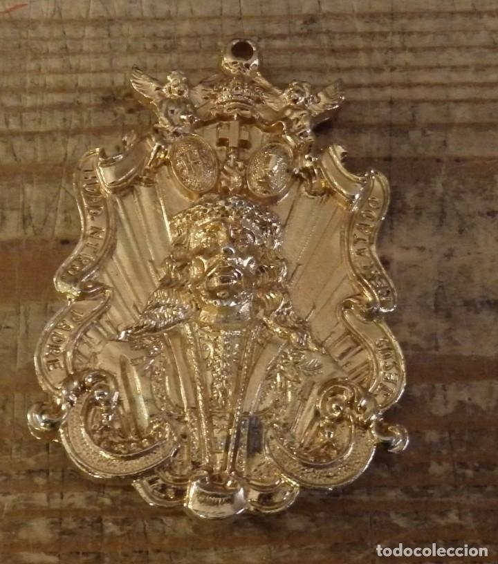 SEMANA SANTA ALMAGRO, CIUDAD REAL, MEDALLA HERMANDAD JESUS RESCATADO,5X7 CMS (Antigüedades - Religiosas - Medallas Antiguas)