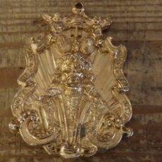 Antigüedades: SEMANA SANTA ALMAGRO, CIUDAD REAL, MEDALLA HERMANDAD JESUS RESCATADO,5X7 CMS. Lote 172987587