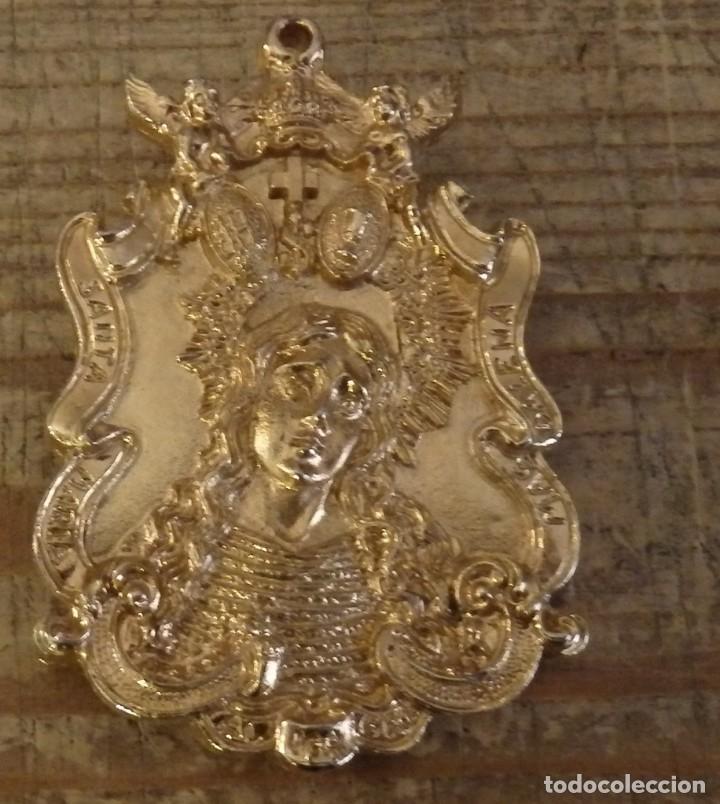 Antigüedades: SEMANA SANTA ALMAGRO, CIUDAD REAL, MEDALLA HERMANDAD JESUS RESCATADO,5X7 CMS - Foto 2 - 172987587