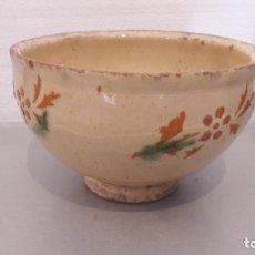 Antigüedades: ANTIGUO CUENCO DE LA BISBAL. Lote 173011850