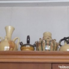 Antigüedades: CÁNTAROS, BOTIJOS, JARRONES CERÁMICA ESTILO BISBAL SBTD. EN BUEN ESTADO. PRECIO UNIDAD O LOTE. Lote 173012405