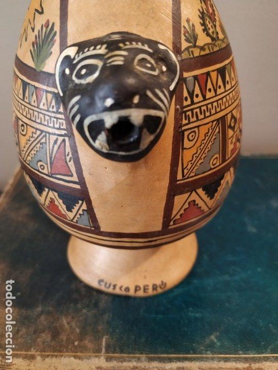 Antigüedades: PEQEÑO BOTIJO DE CUZCO PERU - Foto 6 - 173063375