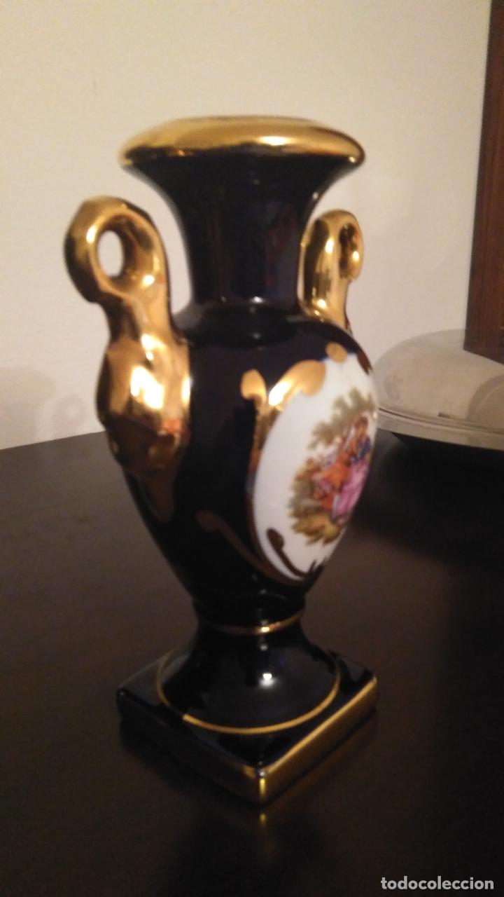 Antigüedades: Jarrón Porcelana Limoges. Perfecto. - Foto 2 - 173096599