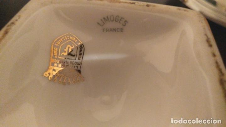 Antigüedades: Jarrón Porcelana Limoges. Perfecto. - Foto 6 - 173096599