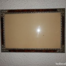 Antigüedades: MARCO MADERA ANTIGUO MODERNISTA 53,5 CM X 36 CM. Lote 173102073