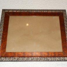 Antigüedades: ANTIGUO MARCO MODERNISTA MADERA 50,5 X 40 CM. Lote 173102077