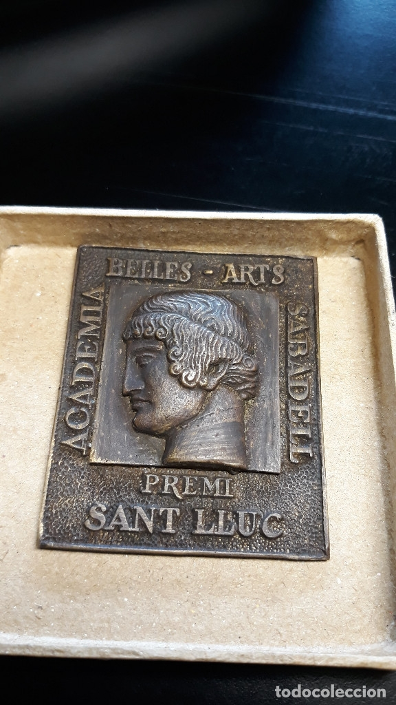 Antigüedades: MEDALLA DE ACADEMIA BELLES ARTS SABADELL( 130 Aniversario ) - Foto 4 - 171158449