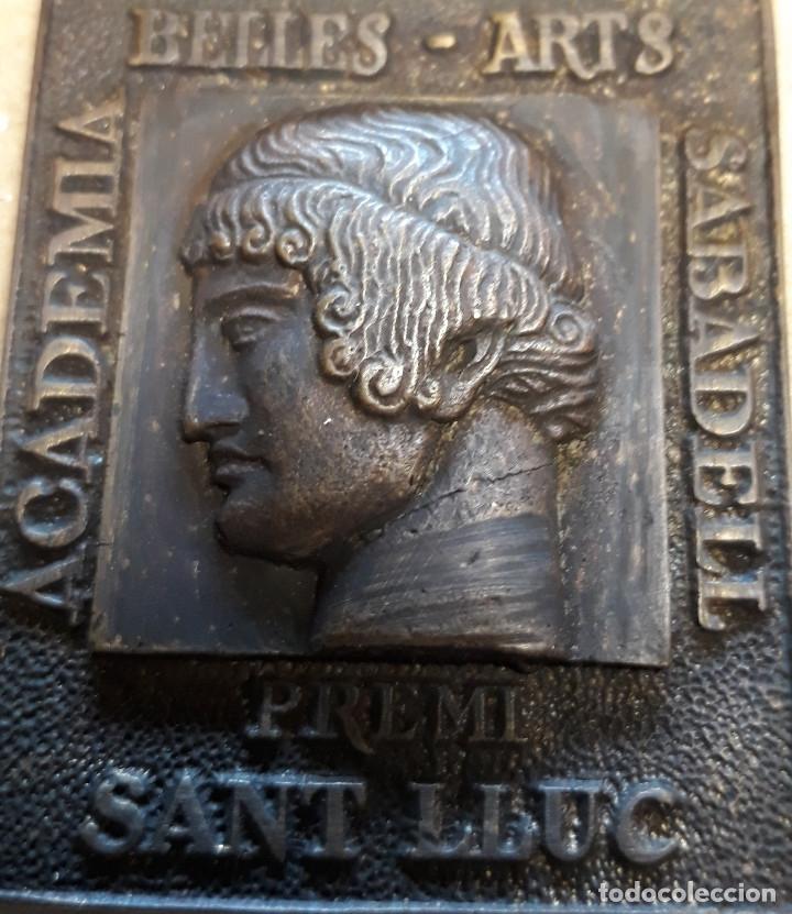 Antigüedades: MEDALLA DE ACADEMIA BELLES ARTS SABADELL( 130 Aniversario ) - Foto 8 - 171158449
