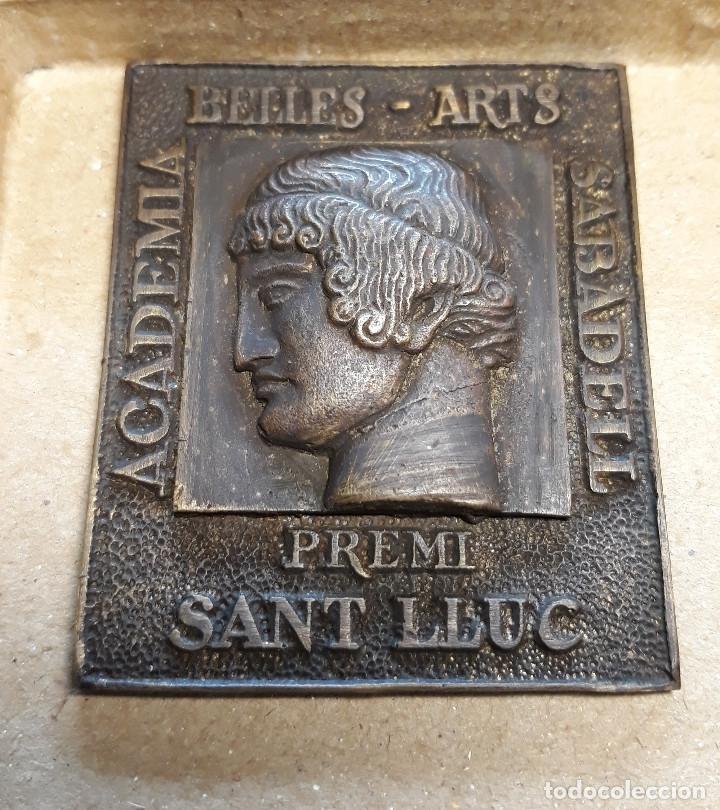 Antigüedades: MEDALLA DE ACADEMIA BELLES ARTS SABADELL( 130 Aniversario ) - Foto 9 - 171158449