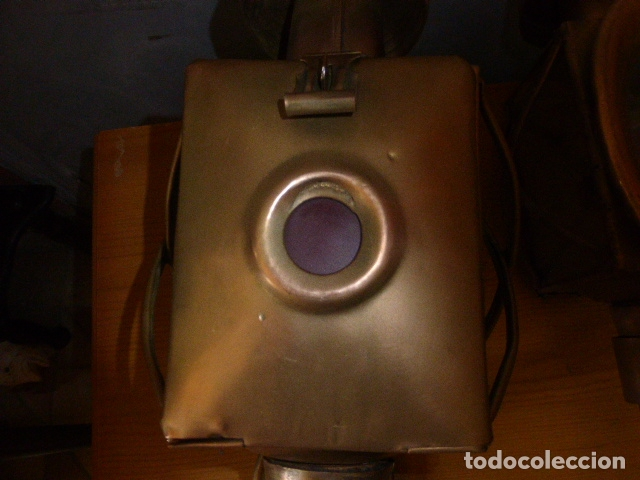 Antigüedades: PAREJA DE LAMPARAS DE CARRUAJE - Foto 5 - 219379577