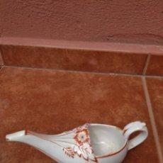 Antigüedades: LUCERNA O LÁMPARA DE ACEITE EN CERÁMICA - ANTIGUA. Lote 173155977