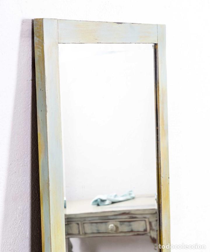 Antigüedades: Espejo Antiguo Restaurado Bidasona - Foto 2 - 173183778
