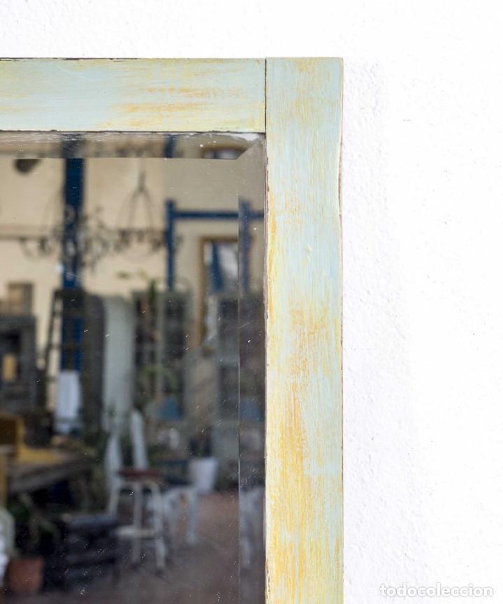 Antigüedades: Espejo Antiguo Restaurado Bidasona - Foto 3 - 173183778