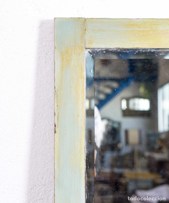 Antigüedades: Espejo Antiguo Restaurado Bidasona - Foto 4 - 173183778