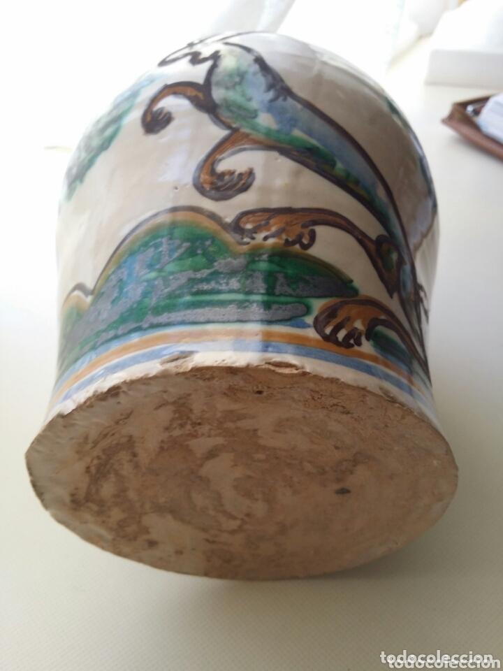 Antigüedades: ALCUZA JARRA DE CERAMICA PUENTE O TALAVERA FF S. XIX - Foto 8 - 173198985