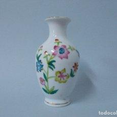 Antigüedades: PEQUEÑO JARRON MADE IN CHINA, PINTADO A MANO ... L228. Lote 173201243