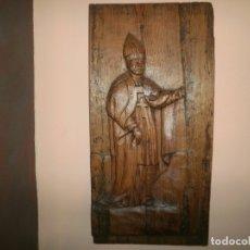 Antigüedades: TALLA RELIGIOSA PARECE PARTE DE UN RETABLO. Lote 173261938