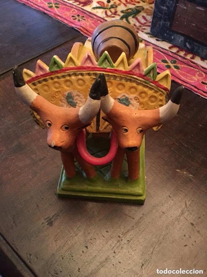 Antigüedades: Preciosa escultura cerámica ana barracas - Foto 2 - 173273545