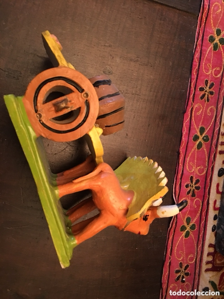 Antigüedades: Preciosa escultura cerámica ana barracas - Foto 4 - 173273545