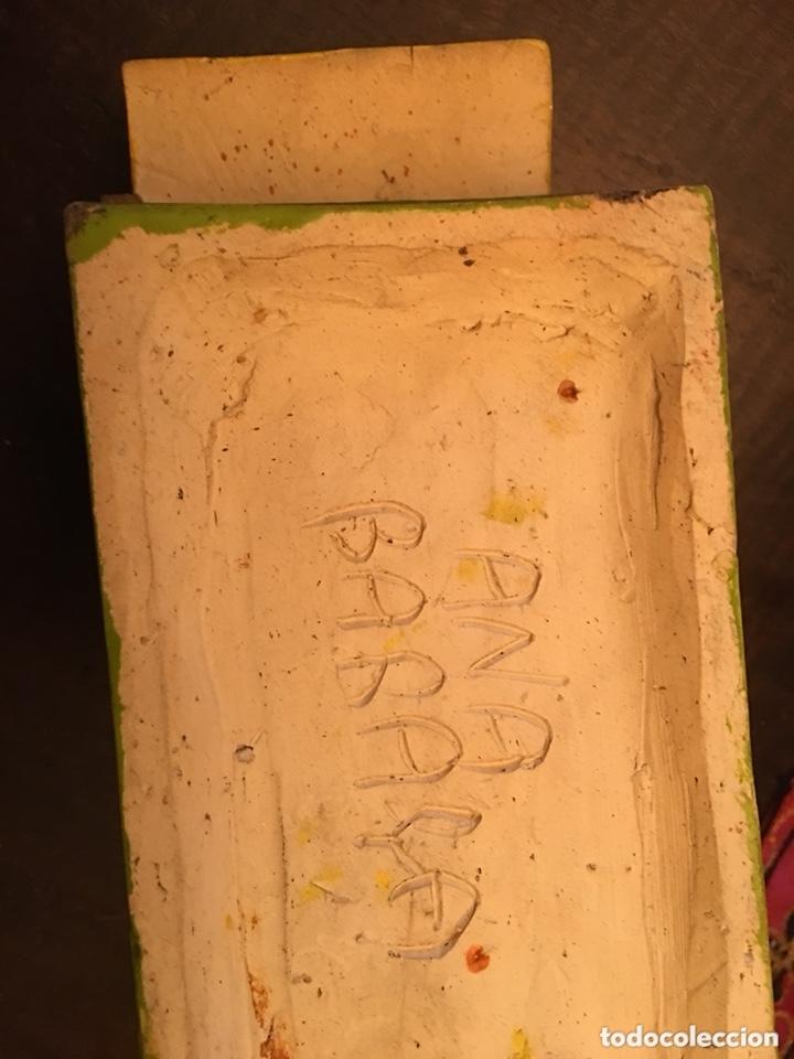 Antigüedades: Preciosa escultura cerámica ana barracas - Foto 5 - 173273545