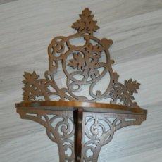 Antigüedades: PRECIOSA MENSULA MODERNITA MADERA. Lote 173359303