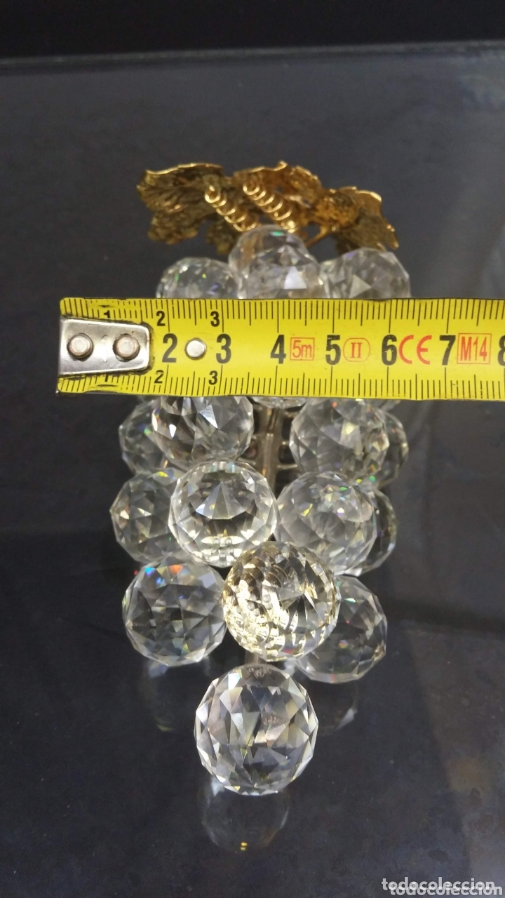 Antigüedades: Racimo uva Swarovski serie Sparkling fruit - Foto 10 - 173383329