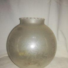 Antigüedades: ANTIGUA TULIPA DE QUINQUE - PRECIOSA. Lote 173383557