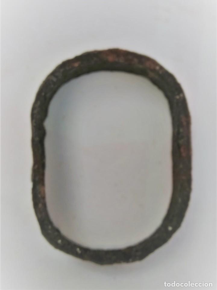 PIEZA DE CARRO DE MULAS DE 7,5 CMS. X 5,5 (Antigüedades - Técnicas - Rústicas - Caballería Antigua)