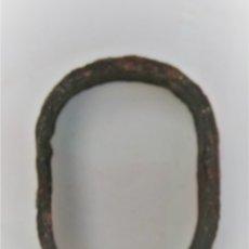 Antigüedades: PIEZA DE CARRO DE MULAS DE 7,5 CMS. X 5,5. Lote 173399133