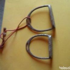 Antigüedades: PAREJA DE ESTRIBOS. Lote 173405234