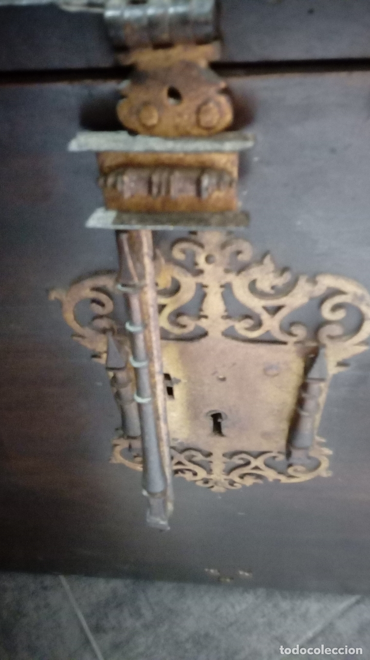 Antigüedades: bargueño castellano siglo XVIII - Foto 22 - 168431668