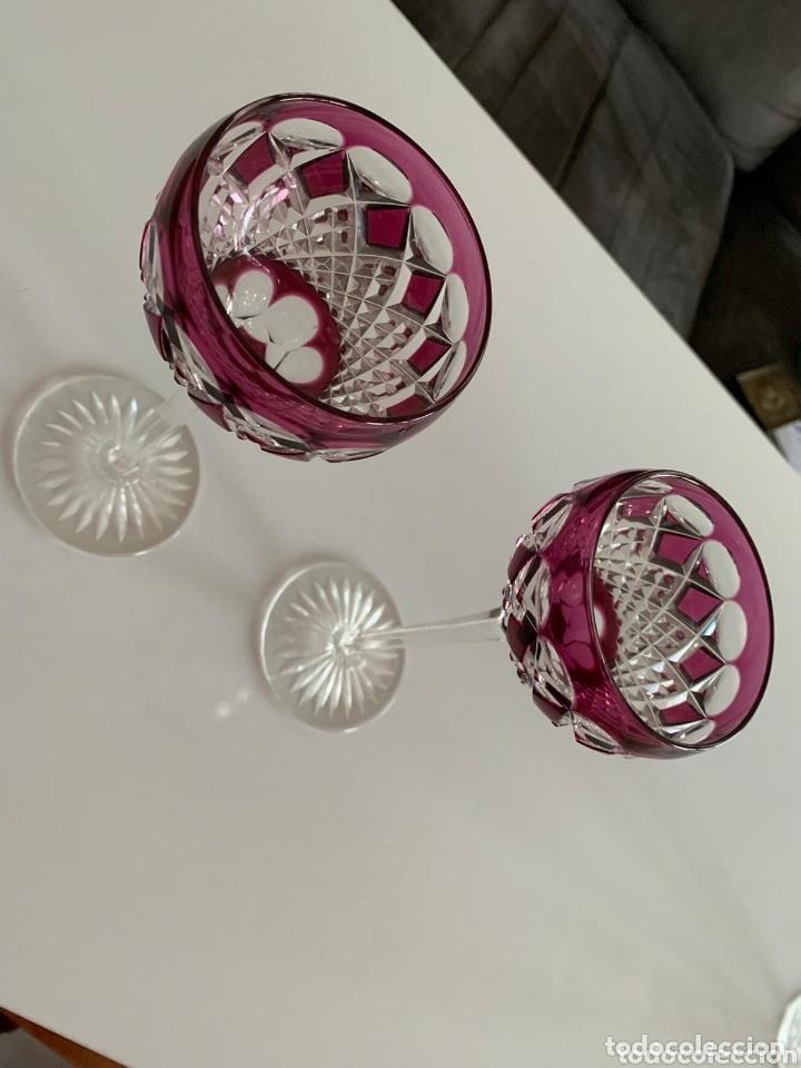 Antigüedades: Copas Cristal de bohemia - Foto 3 - 173421344