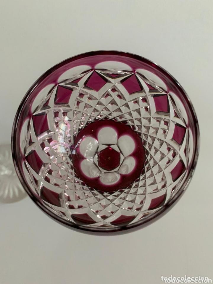 Antigüedades: Copas Cristal de bohemia - Foto 5 - 173421344
