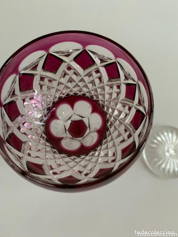 Antigüedades: Copas Cristal de bohemia - Foto 6 - 173421344