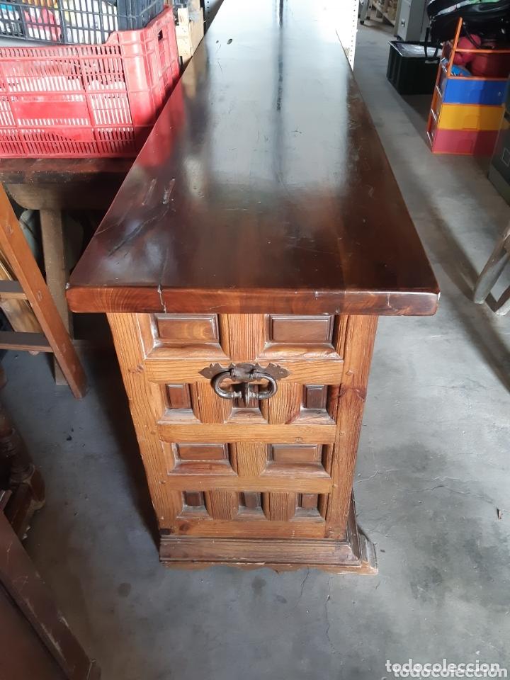 Antigüedades: MUEBLE APARADOR 280 CMS. DE LARGO. - Foto 3 - 201493052
