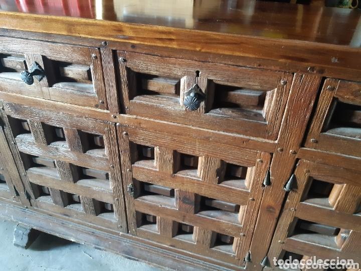 Antigüedades: MUEBLE APARADOR 280 CMS. DE LARGO. - Foto 10 - 201493052