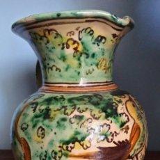 Antigüedades: JARRA DE CERÁMICA PUENTE DEL ARZOBISPO SANTA FE. Lote 173452690