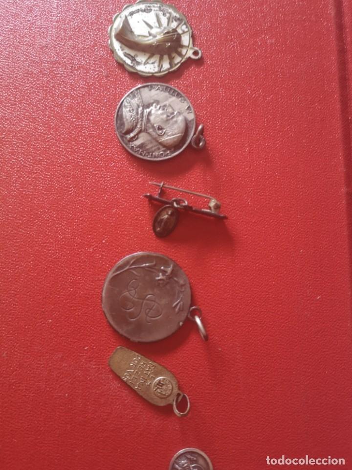 Antigüedades: Lote de medallas antiguas y modernas y mas - Foto 3 - 173464350