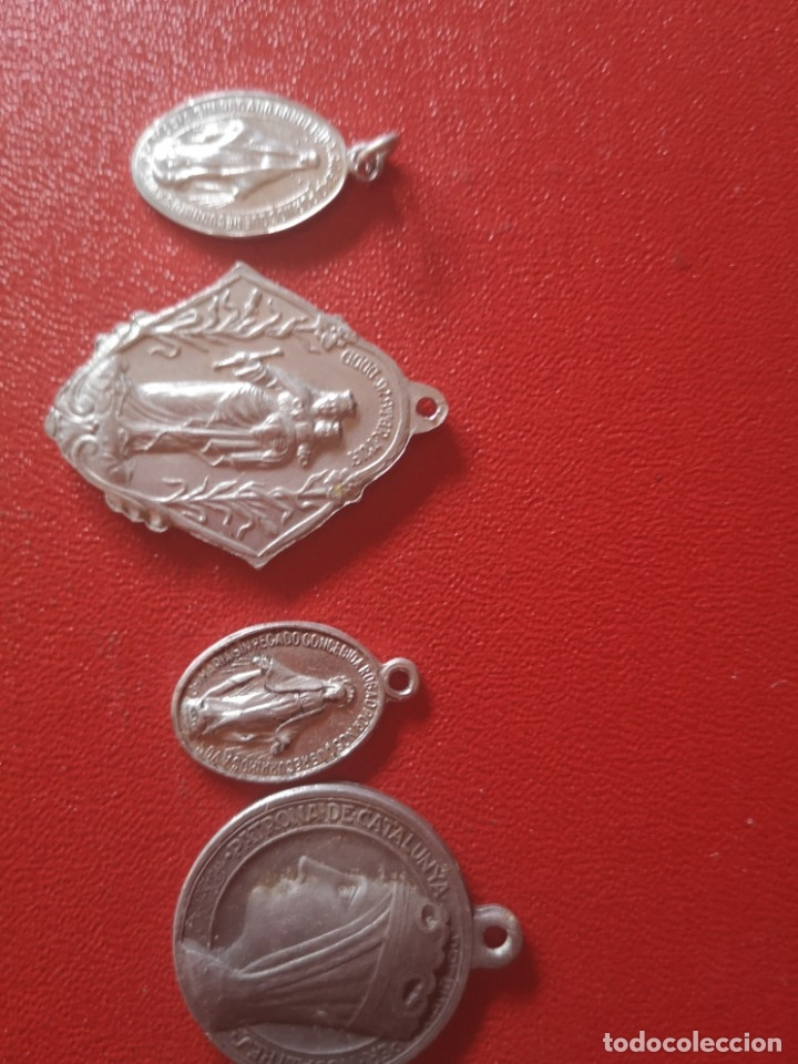 Antigüedades: Lote de medallas antiguas y modernas y mas - Foto 5 - 173464350