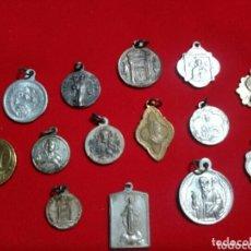 Antigüedades: OPORTUNIDAD!! MAGNÍFICO LOTE MEDALLAS RELIGIOSAS .. Lote 173465677