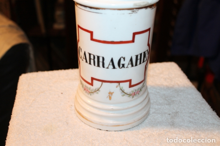 Antigüedades: ALBARELO - BOTE DE FARMACIA S. XIX - Foto 6 - 139435894