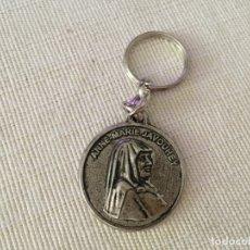 Antigüedades: LLAVERO ANNE MARIE JAVOUHEY. Lote 173489038