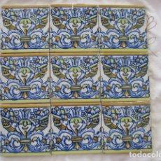 Antigüedades: AZULEJOS TRIANA SIGLO XIX. Lote 173494990